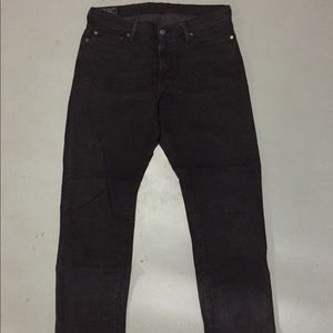 Abercrombie Black Washed Denim Jean